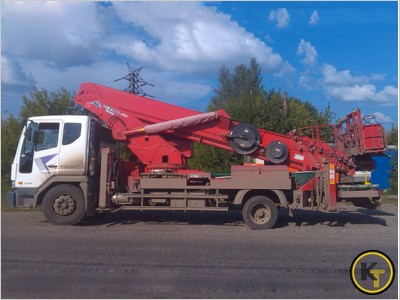 Автовышка HYUNDAI 28 метров