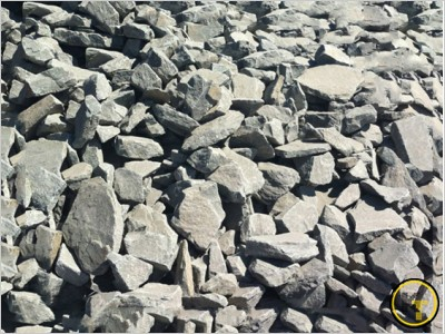 Гранитный бутовый камень для габионов