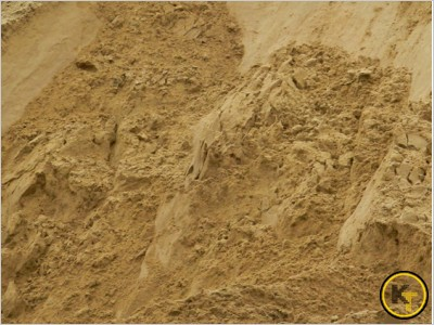 Песок речной мелкий намывной